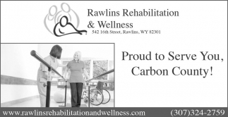 Proud to Serve You, Carbon County!