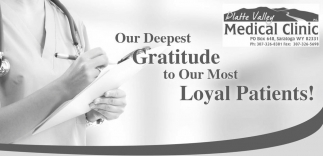 Our deepest gratitude to our most loyal patients!