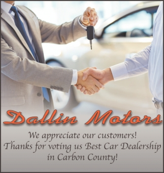 We appreciate our customers!