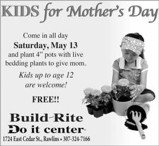 Kids for Mother's Day