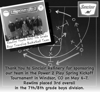 Thank you to Sinclair Refinery