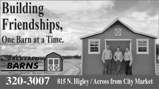 Building Frinedships, One Barn at a Time.