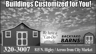Building Customized for You!