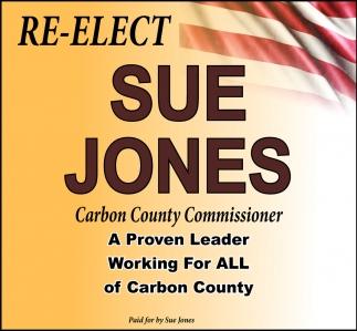Re-Elect Sue Jones