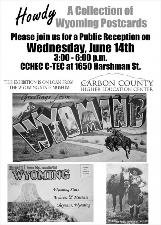 A Collection of Wyoming Postcards