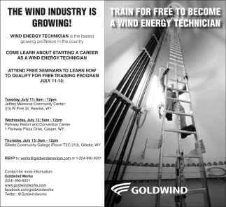 The wind industry is growing!