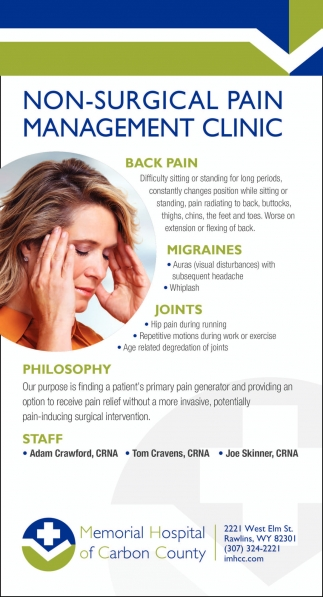 Non-surgical pain management clinic