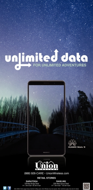 Unlimited Data!