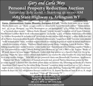 Personal Property Reduction Auction