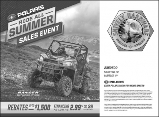 Ride All Summer Sales Event