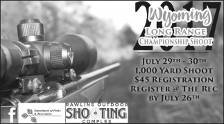 Wyoming Long Range Championship Shoot