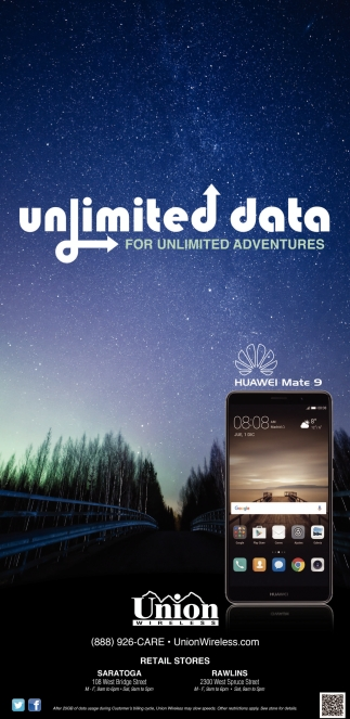 Unlimited data
