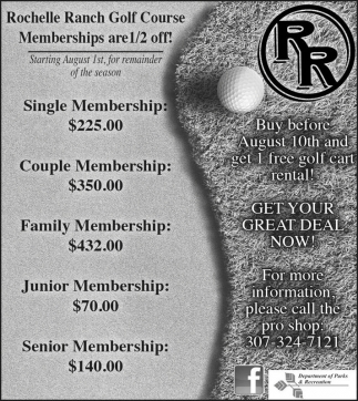Memberships are 1/2 off!