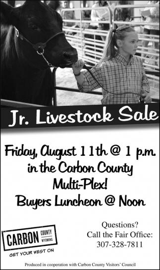 Jr. Livestock Sale