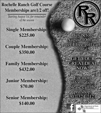 Memberships!