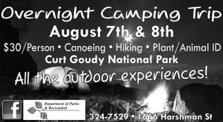 Overnight Camping Trip