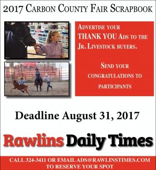 Deadline August 31, 2017