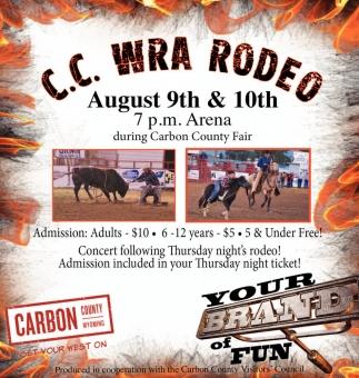 C.C. WRA Rodeo