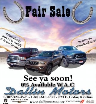Fair Sale