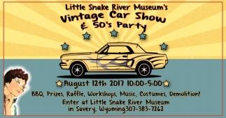 Vintage Car Show & 50's Party