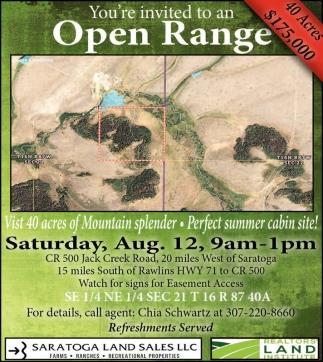 Open Range!