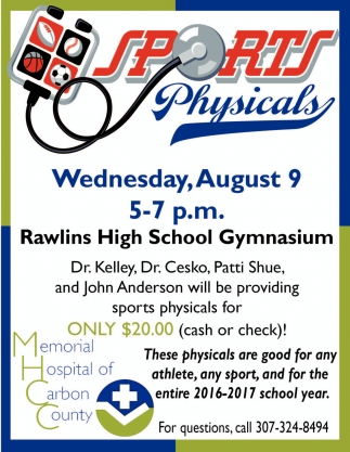 Sportss Physicals