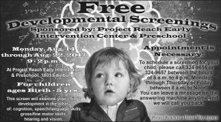 Free Developmental Screenings