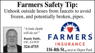 Farmers Safety Tip