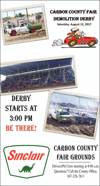 Carbon County Fair Demolition Derby