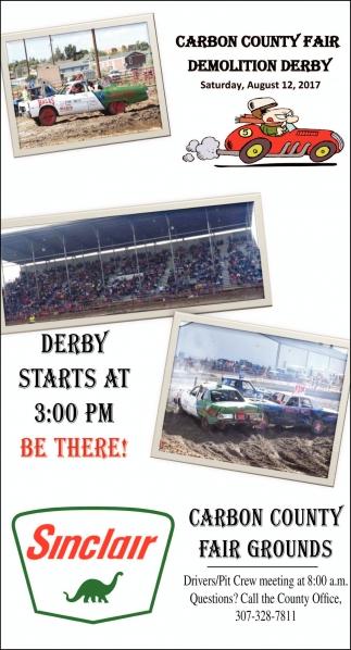 Carbon County Fair Demolition Derby