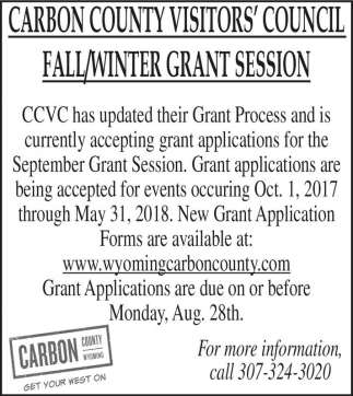 Fall/Winter Grant session