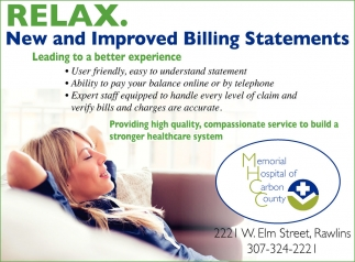 Relax. New and Improved Billing Statements