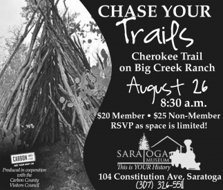 Chase Your Trails