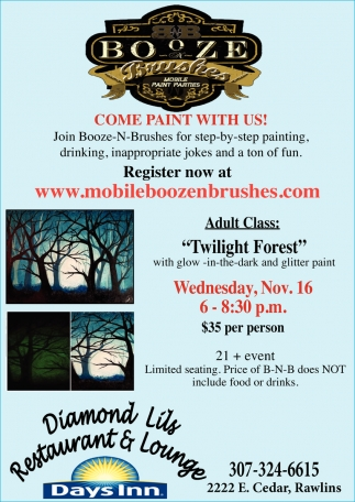 Come Paint with Us!