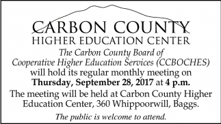 Carbon County Higher Education Center
