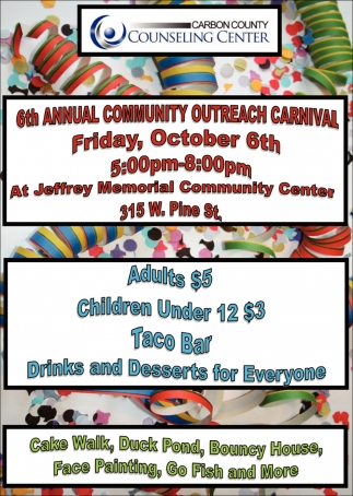 6th Annual Community Outreach Carnival