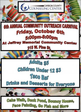 6th Annual Community Outreach Carnival