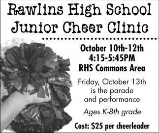 Rawlins High School Junior Cheer Clinic