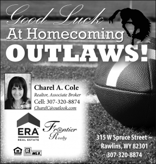 Good Luck at Homecoming Outlaws!