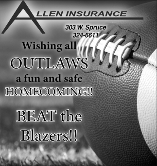 Wishing all outlaws a fun and safe Homecoming!
