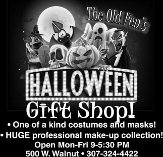 Halloween Gift Shop