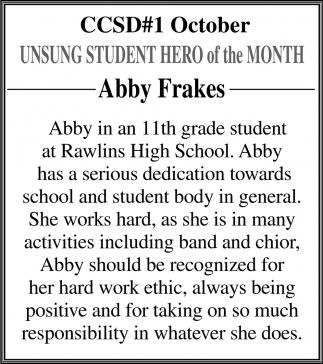 Abby Frakes