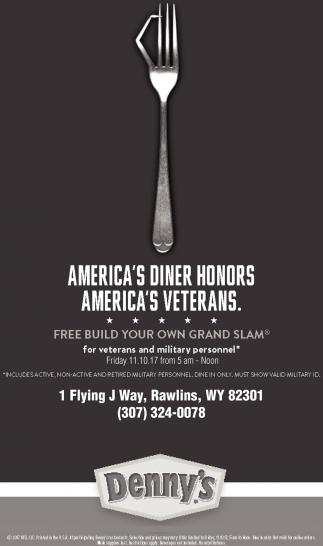 America's Diner Honor, America's Veterans
