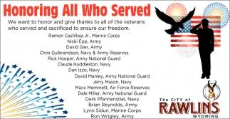 Honoring Al Who Serverd