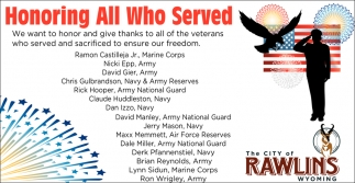 veterans ensured our freedom