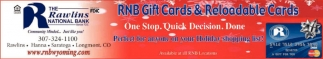 RNB Gift & Reloadable Cards