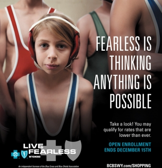 Fearless is thinking anything is possible
