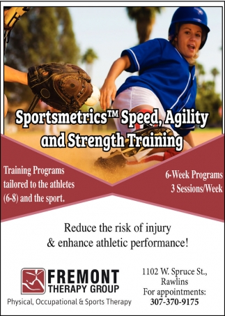 Sportsmetrics, Speed, Agility and Strength Training