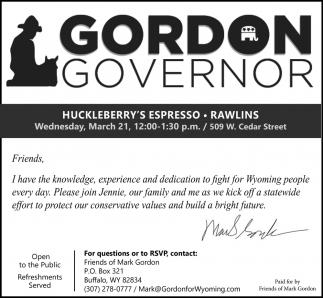 Gordon Governor