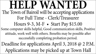 Clerk/Treasurer